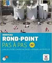 Nouveau Rond-Point pas à pas A2 - Libro del alumno