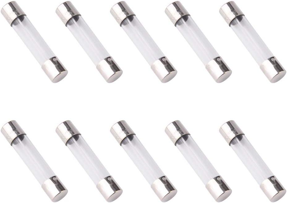 pack of 10 pcs F15AL Fast-Blow Fuse 15A 250V Glass Fuses 6 x 30 mm (15amp)(15A)