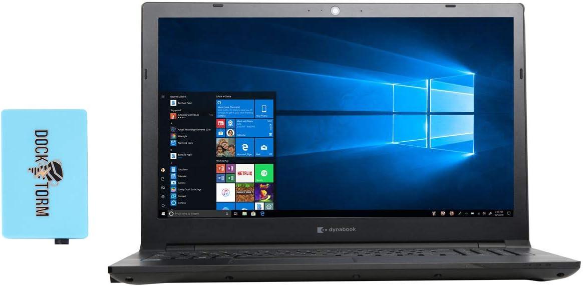 Toshiba Dynabook Tecra A50-F Home & Business Laptop (Intel Celeron 4205U 2-Core, 16GB RAM, 256GB m.2 SATA SSD, Intel HD 610, 15.6