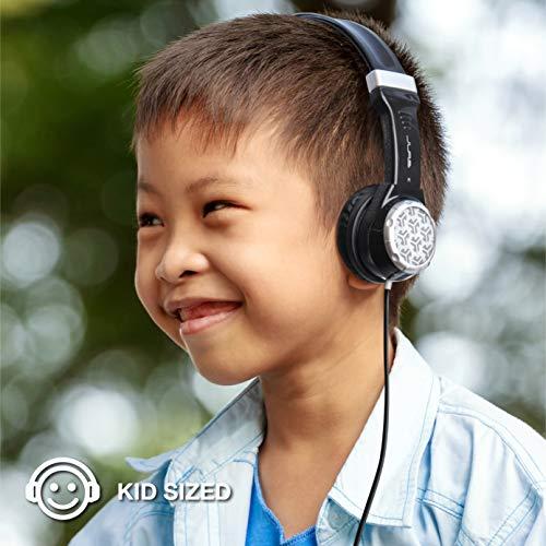 7be2675f8e1 JLAB JK2-BLK-RTL Audio JBuddies Kids- Folding, Volume Limiting Headphones,  Guaranteed for Life - Black