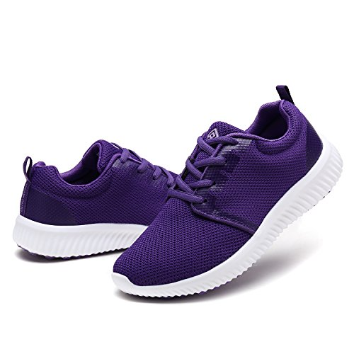 DREAM PAIRS Women's W170389 Purple Fashion Running Shoes Sneakers Size 7.5 M US