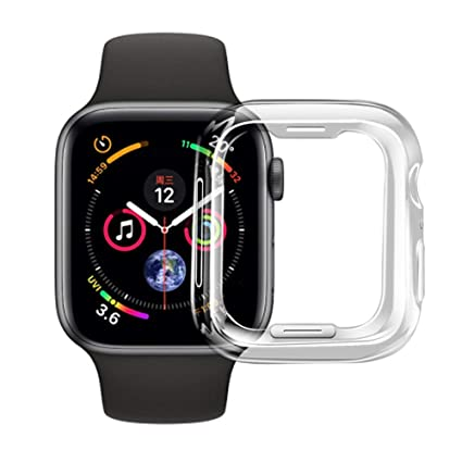 buy online 7eb5b d6d51 Amazon.com: Apple Watch Series 4 44mm Case, Edauto iwatch Screen ...