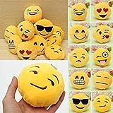 Miniature 15PCS 8CM Cute Individuality Emoji...