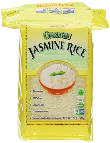 Golden Star Organic Jasmine Rice 2 lb (Pack of ()