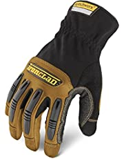 Ironclad Work Ranchworx Gloves RWG2 Premier Glove Leather Performance Fit Durable Machine Washable