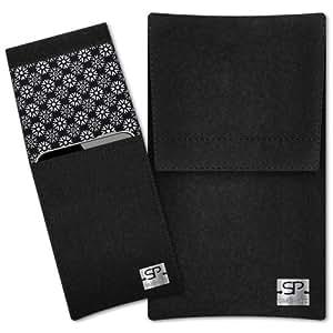 SIMON PIKE Cáscara Funda de móvil Sidney 16 negro Samsung Galaxy Young Fieltro de lana
