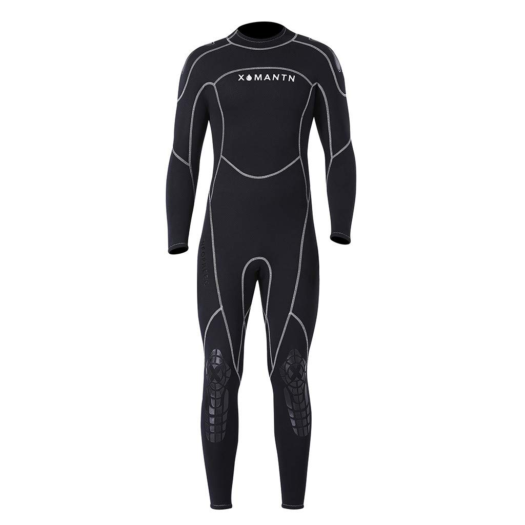 Yliquor Men's Keep Warm Sunscreen Swimming,Surfing and Snorkeling Diving Coverall SuitQuick Dry Classic Fashion Breathable Elastic Comfy Training by Yliquor (Image #8)