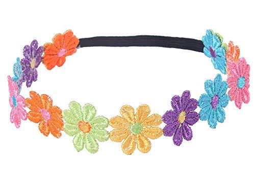 niceeshop(TM) Baby Haarschmuck Kind Blume Haarband Kopfband Haarreif(Farbenreich)
