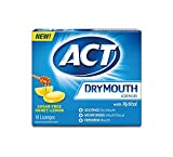 ACT Dry Mouth Lozenges, Honey-Lemon, 18 Count