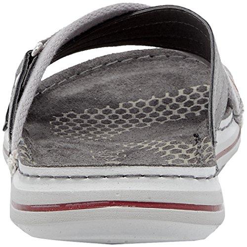 INBLU Men's Piston Flip Flops Grey (Grigio 025) OHHhDT