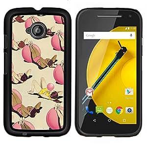 Stuss Case / Funda Carcasa protectora - Ejercicio de entrenamiento de fitness de bolitas profundo divertido - Motorola Moto E ( 2nd Generation )