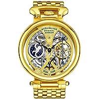 Stuhrling Original Men's 797.02 Legacy Analog Display Automatic Self Wind Gold Watch