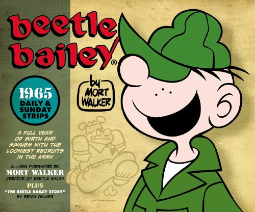Beetle Bailey: The Daily & Sunday Strips, 1965 by Titan Books