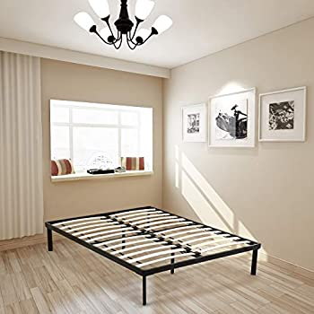 Amazon Com Mecor 14 Inch Metal Platform Bed Frame With
