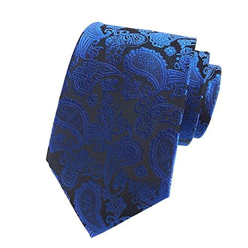 Royal Blue Mens Tie - 7