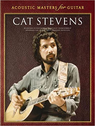 Amazon.com: Acoustic Masters for Guitar: Cat Stevens (9780711936072 ...