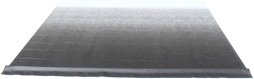 ALEKO Retractable RV Awning Fabric Replacement - 16x8 ft Shade Cover for Camper Trailer or Patio - Black Fade