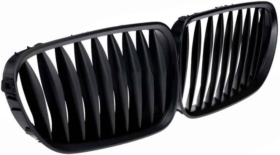 Hotaluyt Matte Black Car Front Kidney Grille Sporty Style Grill for Z4 E85 2003-2008