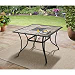 "Mainstays Heritage Park 40"" x 40"" Dining Table"