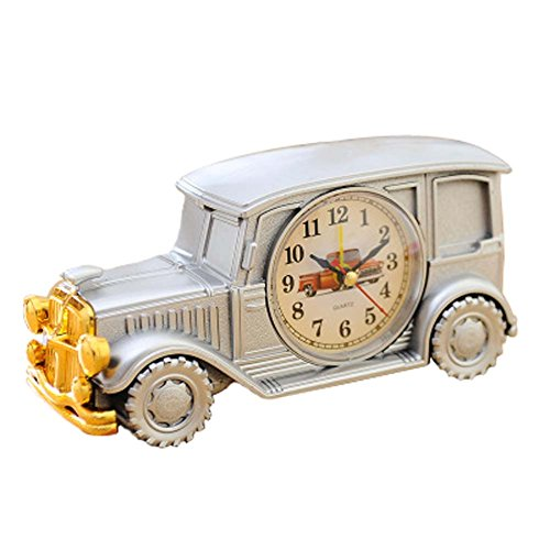 PANDA SUPERSTORE Alarm Clocks Plastic Table Clock Children Decoration Model Student Digital