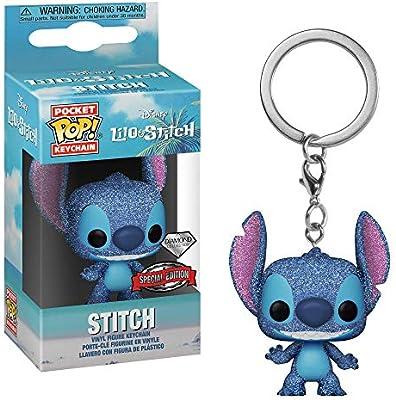 Amazon.com: Pop Funko Pocket Disney Lilo & Stitch Diamond ...