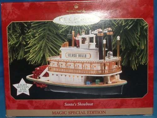 Hallmark Keepsake Ornament - Santa's Showboat (Magic)