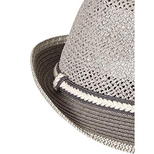 VERTBAUDET Sombrero de ceremonia niño GRIS MEDIO LISO CON MOTIVOS 51 52  Buena b736ecbf447