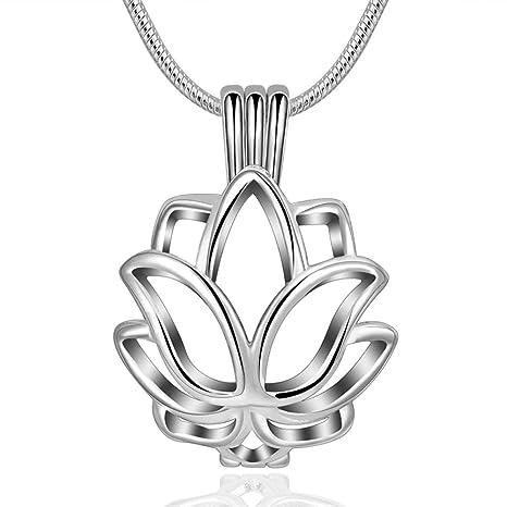 Collar De Perfume Collar Colgante con Difusor De Aceite Esencial ...