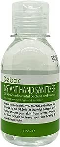 Debac Instant Anti-Bacterial Hand Sanitizer (115ml)