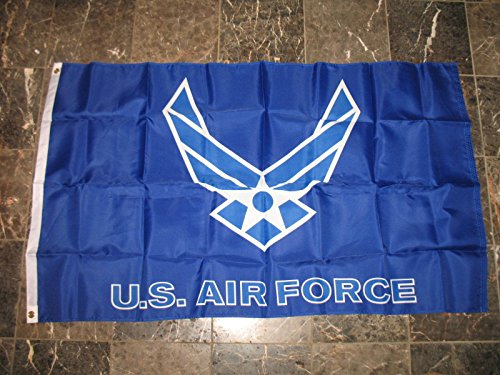 3X5 Us Air Force Blue Wings Usaf Flag 3