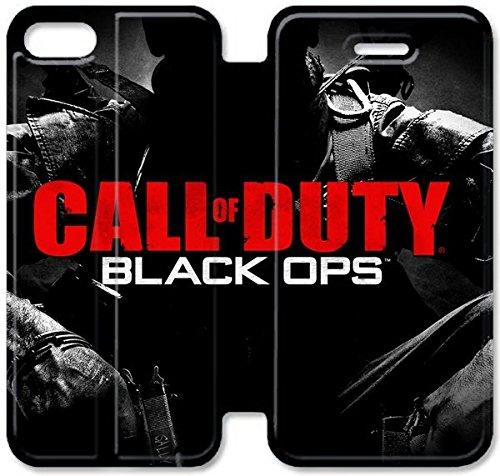 Coque iPhone 5C Coque Cuir, Klreng Walatina® PU Cuir de portefeuille de couverture Coque pour Coque iPhone 5C Design By Call Of Duty X3I3Sz