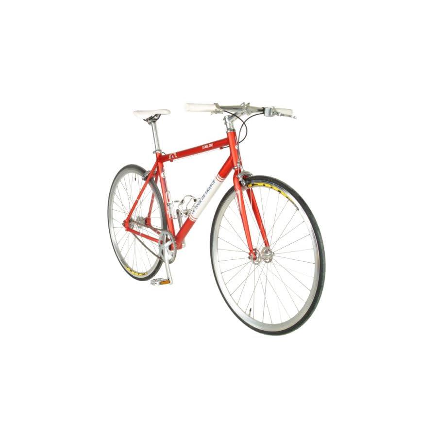 Tour De France Stage One Vintage Fixie Bike, 700c Wheels, Men\'s Bike ...