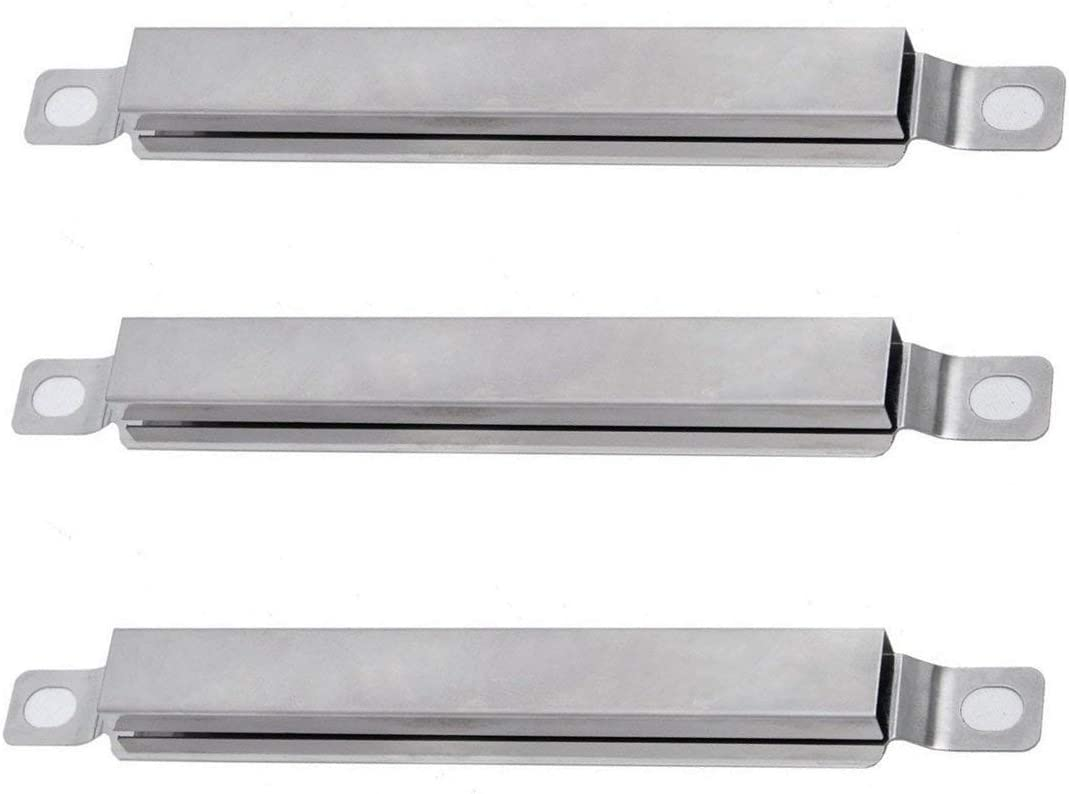 Kemmore and Other Gas Grills Set of 3 6 3//8 inch YIHAM KC624 BBQ Grill Parts Stainless Steel Carryover Crossover Tube Burner Replacement for Charbroil