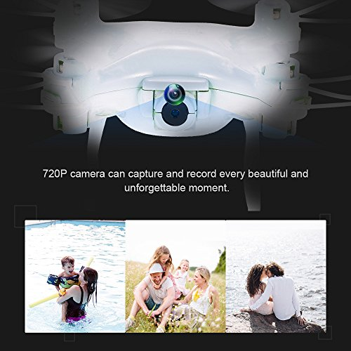 IDABAY-30W-WiFi-Mini-Fashionable-4-Axis-Helicopter-Drone-with-Wifi-Camera-Live-Video-and-GPS-Return-Home-Quadcopter-with-Adjustable-Wide-Angle-720P-HD-WIFI-Camera-Follow-Me-Altitude-Hold-Intelligen