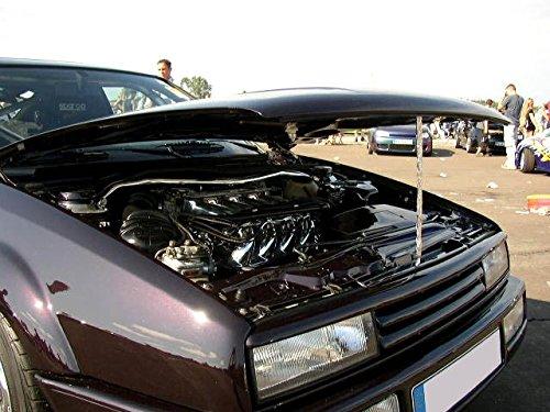 Euro Front Up Strut Bar Tower Brace Stress For VW Golf / Jetta MK2 2 + Corrado G60 GTI