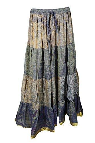 Mogul Interior - Falda - trapecio - para mujer gris