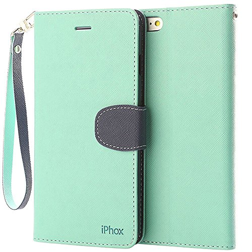 IPHOX Magnetized Closure Leather Protective