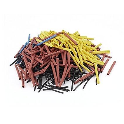 eDealMax 2: 1 de calor tubo retráctil manguitos Wrap Wire kit, 2 Size, 1 mm / 2, 5 mm - - Amazon.com