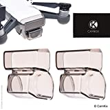 2in1 Gimbal Lock and Camera / Sensor Shield for DJI Spark - Set of 2 - Locks the Position of the Gimbal - Shields the Camera and Sensor - Essential Drone Protection Kit - Guards Expensive Parts