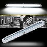 LED Closet Light, Newest Version 20-LED Motion Sensor Closet Light Wireless Under Cabinet Light for Closet, Cabinet, Wardrobe, 2 Sensor Mode (Motion Sensor, Motion & Light Sensor)