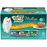 #2: Purina Fancy Feast Medleys Tastemakers Collection Adult Wet Cat Food Variety Pack - (18) 3 oz. Cans