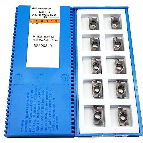 Zimi APMT1604PDER-DP ZM35 CNC-Hartmetall-Fräser-Einsätze, indexierbare Fräserklinge, 10 Stück