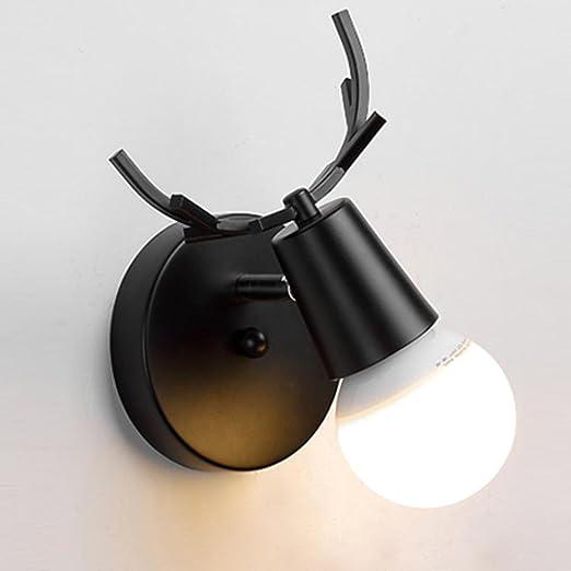 Industrielle Moderne Wandleuchte Iro Malen Antlers Wandlampe