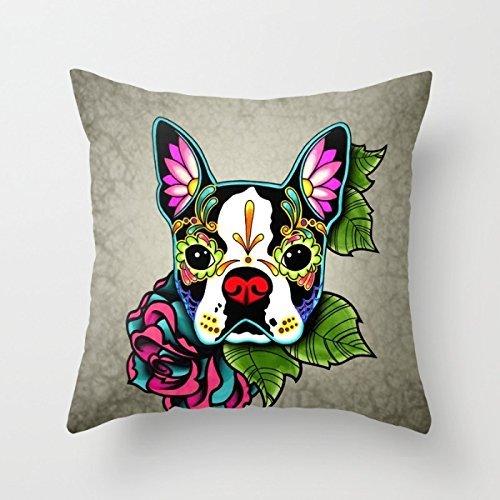 Beautifulseason Dogs Pillowcase 20 X 20 Inches / 50 By 50 Cm For Saloon,boys,wedding,bedding,relatives,birthday With Each (Spirit Halloween Utah)