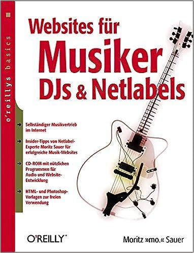 Websites für Musiker, DJs und Netlabels: Amazon.de: Moritz \