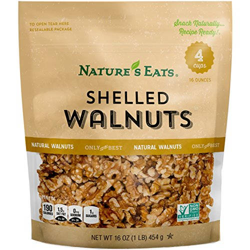 (Nature's Eats Walnuts, 16 Ounce)