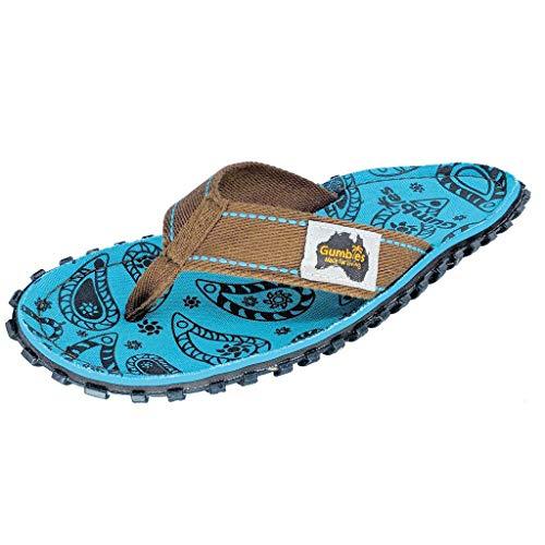 Gumbies Islander Canvas Flip-Flops - Women's - Paisley (US (W) 8) ()