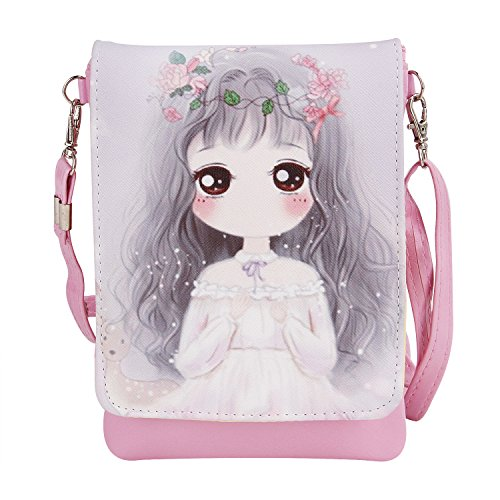 Clutch Bags Cross Body Wallet Teens Pouches Small Shoulder Cute Handbag Key Theme Mini Girls Money 7 2r Purse Holder Kids Students Phone Case Cell Cartoon Bags vvRwBz8q