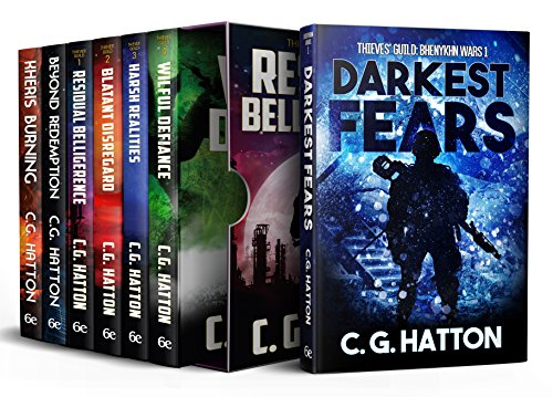 Thieves' Guild Series (7 eBook Box Set): Military Science Fiction - Alien Invasion - Galactic War Novels
