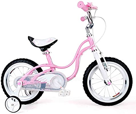 XQ- TR-434 Rosado Bicicleta Para Niños Bicicleta Para Niños 3-8 Años De Edad Niña Equitación La Seguridad Estable 14 Pulgada, 84 * 18 * 50 Cm: Amazon.es: Hogar